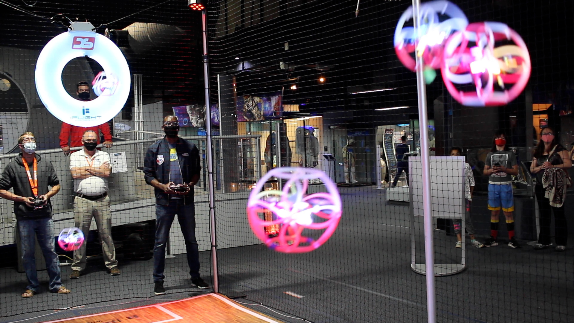 SPACE FOUNDATION GIVING VISITORS A CHANCE TO PLAY QUIDDITCH WITH DRONES